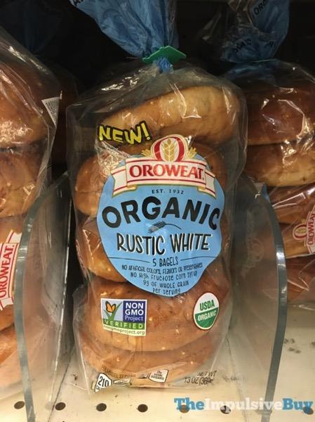 Oroweat Organic Rustic White Bagels