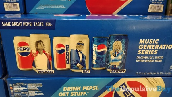 Pepsi Music Generation Series Design Cans