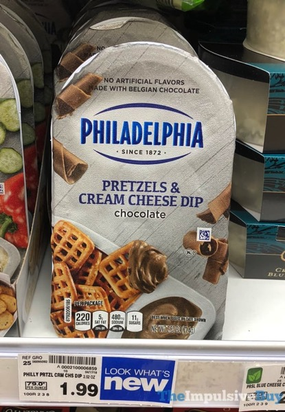 Philadelphia Pretzels  Cream Cheese Dip Chocolate