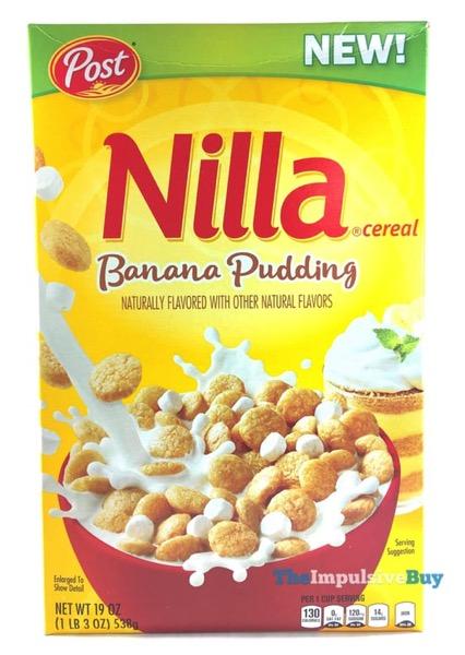 Post Banana Pudding Nilla Cereal