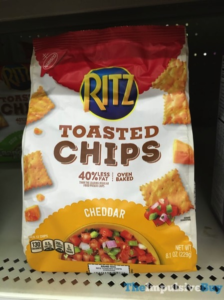 Ritz Cheddar Toasted Chips