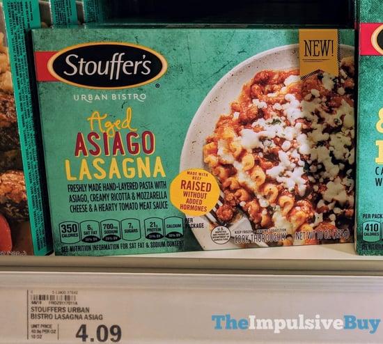 Stouffer s Urban Bistro Aged Asiago Lasagna