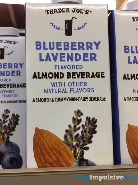 Trader Joe s Blueberry Lavender Almond Beverage