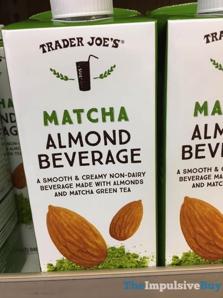 Trader Joe s Matcha Almond Beverage