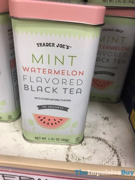 Trader Joe s Mint Watermelon Flavored Black Tea