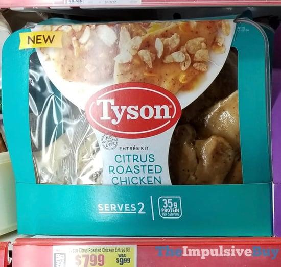 Tyson Citrus Roasted Chicken Entree Kit