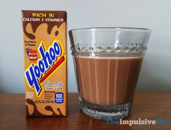 Yoo hoo Chocolate Peanut Butter Drink 2