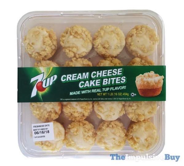 7Up Cream Cheese Cake Bites