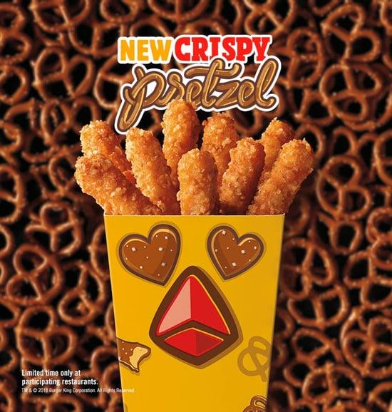 FAST FOOD NEWS: Burger King Crispy Pretzel Chicken Fries - The Impulsive Buy