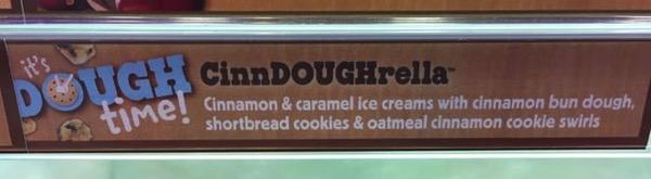 Ben  Jerry s Cinn DOUGH rella Ice Cream 2