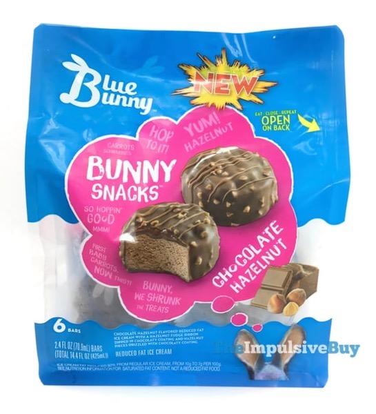Blue Bunny Bunny Snacks Chocolate Hazelnut
