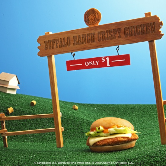 Buffalo Ranch Crispy Chicken Sandwich