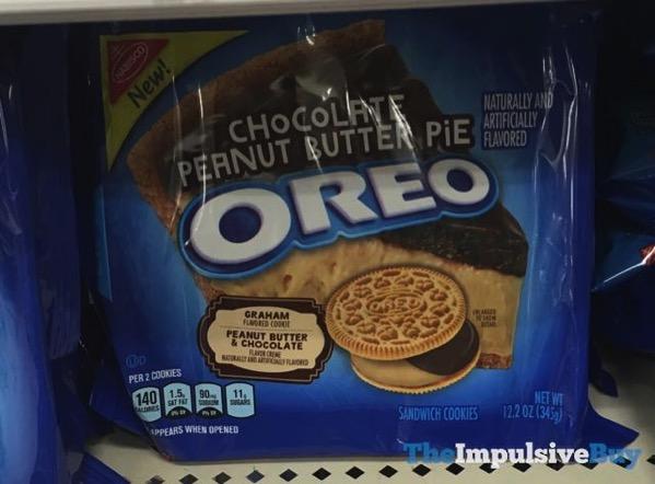 Chocolate Peanut Butter Pie Oreo Cookies