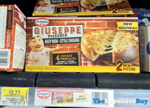Dr Oetker Giuseppe Pizzeria Deep Dish 4 Cheese