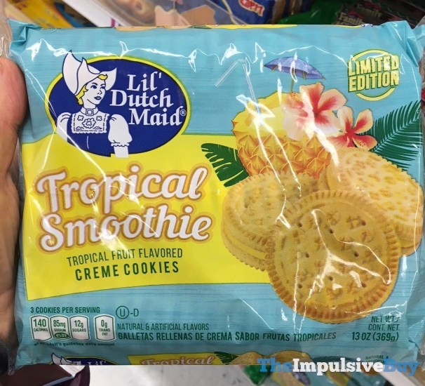 Lil Dutch Maid Tropical Smoothie Creme Cookies
