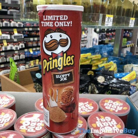 Limited Time Only Sloppy Joe Pringles