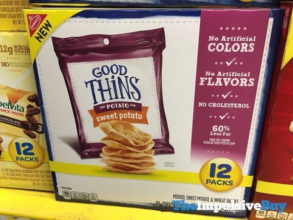 Nabisco Good Thins Sweet Potato 12 Pack