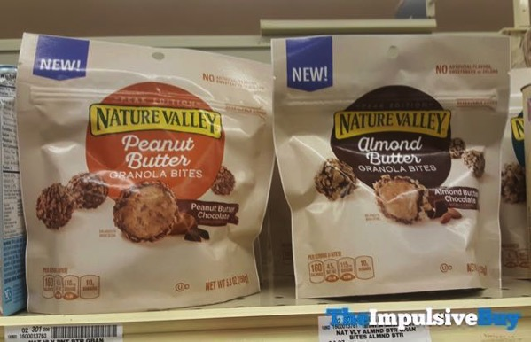 Nature Valley Peak Edition Peanut Butter and Almond Butter Granola Bites