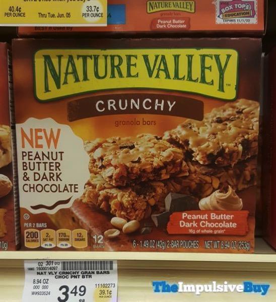 Nature Valley Peanut Butter Dark Chocolate Crunchy Granola Bar