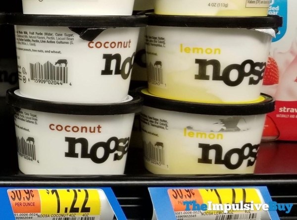Noosa 4 Ounce Cups  Coconut and Lemon