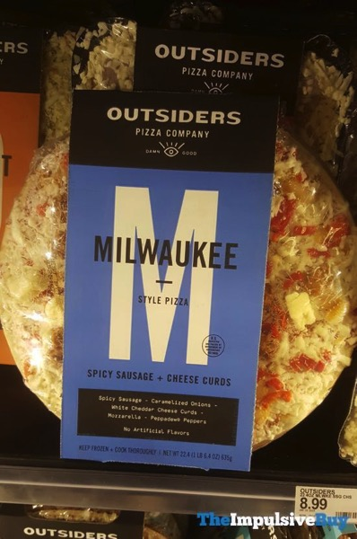 Outsiders Spicy Sausage + Cheese Curds Milwaukee Style Pizza