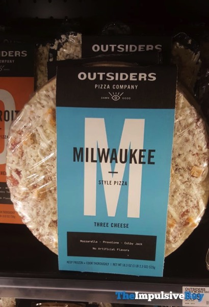Outsiders Three Cheese Milwaukee Style Pizza