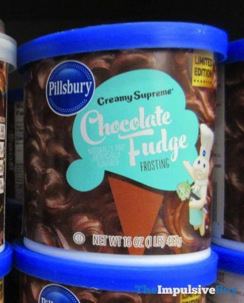 Pillsbury Limited Edition Creamy Supreme Chocolate Fudge Frosting