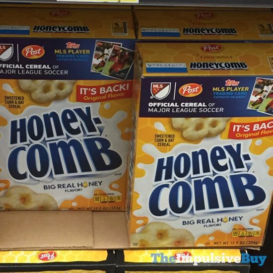 Post Honeycomb Cereal with Its Original Flavor