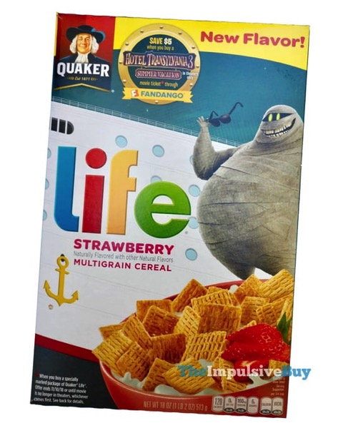 Quaker Life Strawberry Cereal