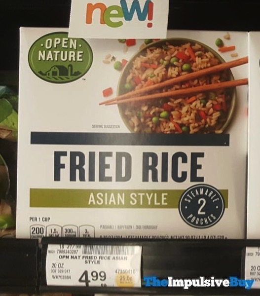 Safeway Open Nature Asian Style Fried Rice