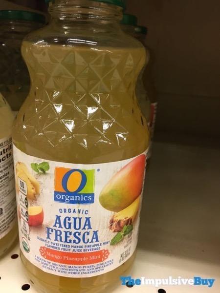 Safeway Organics Agua Fresca Mango Pineapple Mint
