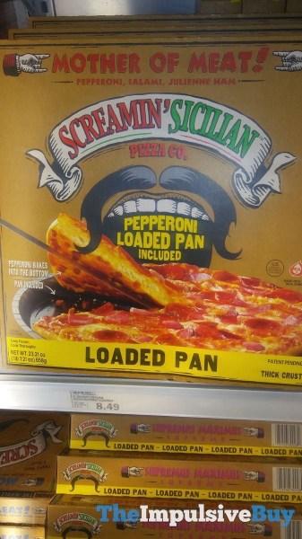 Screamin Sicilian Peppperoni and Supreme Loaded Pan Pizzas