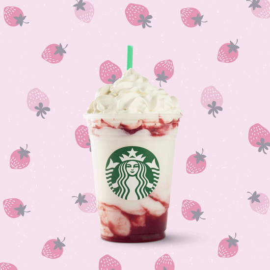 Starbucks Serious Strawberry Frappuccino