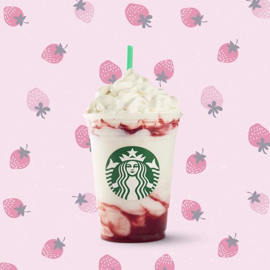 Starbucks Serious Strawberry Frappuccino