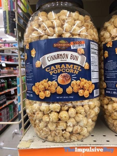 Stonehedge Cinnamon Bun Caramel Popcorn