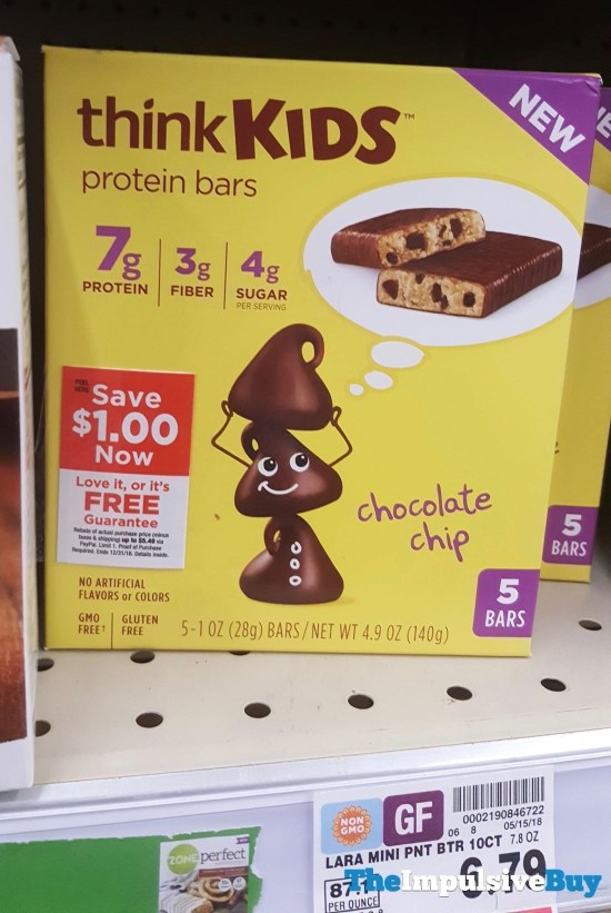 ThinkKids Chocolate Chip Protein Bars