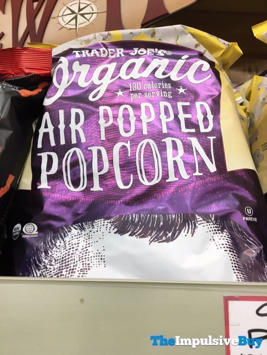 Trader Joe s Organic Air Popped Popcorn