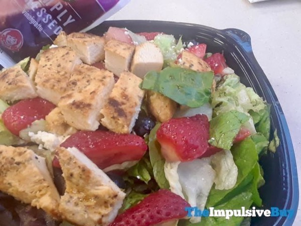 Wendy s Berry Burst Chicken Salad 4