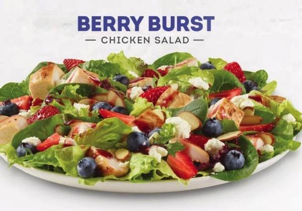 Wendy s Berry Burst Chicken Salad