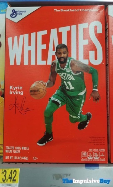 Wheaties Cereal Kyrie Irving Box