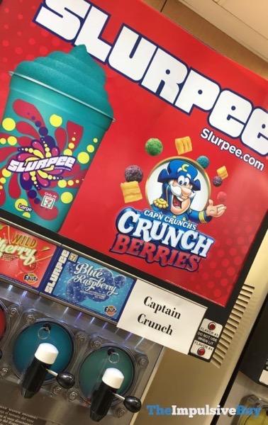 Cap n Crunch s Crunch Berries Slurpee