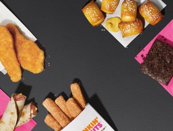 Dunkin Run Menu