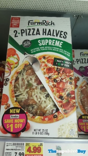 Farm Rich 2 Pizza Halves Supreme