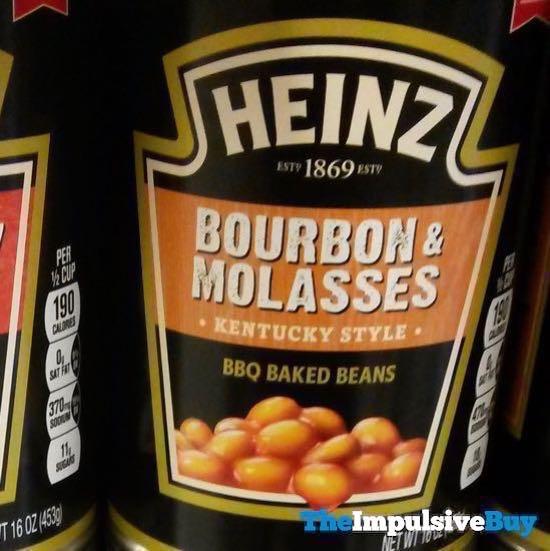 Heinz Bourbon  Molasses Kentucky Style BBQ Baked Beans