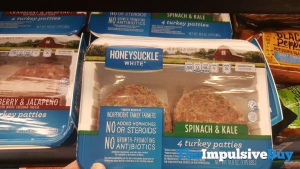 Honeysuckle White Spinach  Kale Turkey Patties
