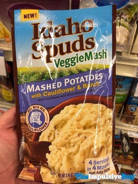 Idaho Spuds VeggieMash Mashed Potatoes with Cauliflower  Ranch