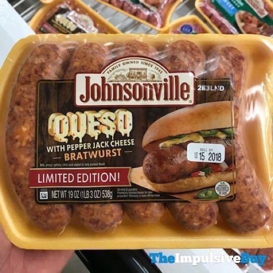Johnsonville Limited Edition Queso Bratwurst