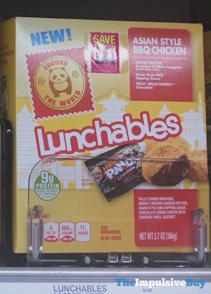 Lunchables Around the World Asian Style BBQ Chicken
