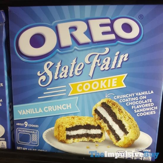Oreo State Fair Cookie Vanilla Crunch