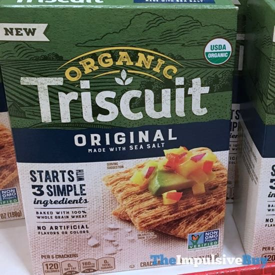 Original Made with Sea Salt Organic Triscuit Crackers